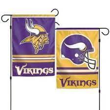 Minnesota Vikings NFL 2 Sided Garden Flag
