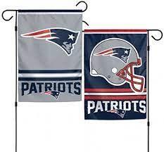 New England Patriots NFL 2 Sided Garden Flag