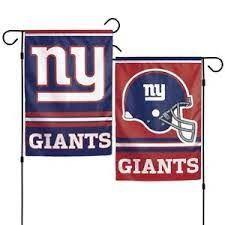 New York Giants NFL 2 Sided Garden Flag