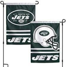 New York Jets NFL 2 Sided Garden Flag