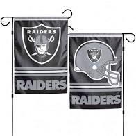 Las Vegas/Oakland Raiders NFL 2 Sided Garden Flag
