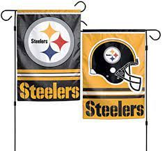 Pittsburgh Steelers NFL 2 Sided Garden Flag