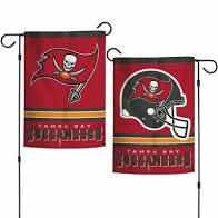 Tampa Bay Buccaneers NFL 2 Sided Garden Flag