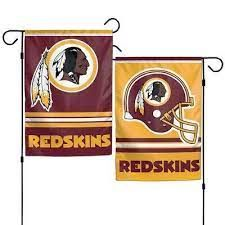 Washington Redskins NFL 2 Sided Garden Flag