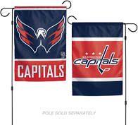 Washington Capitals NHL 2 Sided Garden Flag