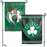 Boston Celtics NBA 2 Sided Garden Flag