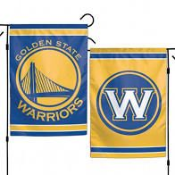 Golden State Warriors NBA 2 Sided Garden Flag