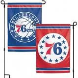 Philadelphia 76ers NBA 2 Sided Garden Flag