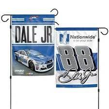 Dale Earnhardt Jr. NASCAR 2 Sided Garden Flag