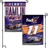 Denny Hamlin NASCAR 2 Sided Garden Flag