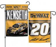 Matt Kenseth NASCAR 2 Sided Garden Flag