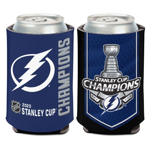 Tampa Bay Lightning 2020 Stanley Cup Champions Can Cooler Koozie