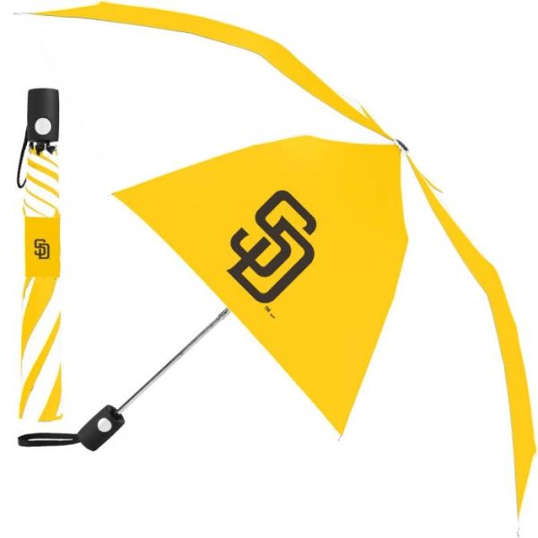 "San Diego Padres Automatic Push Button Umbrella 42"" MLB Licensed"