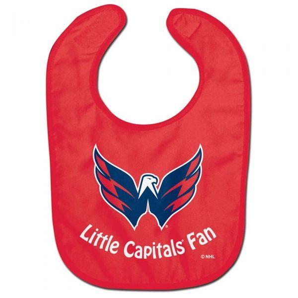 Washington Capitals Baby Bib NHL Licensed