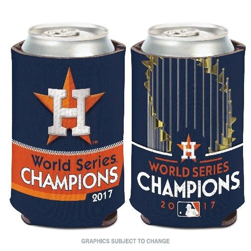 Houston Astros 2017 World Series Champions Can Cooler Koozie