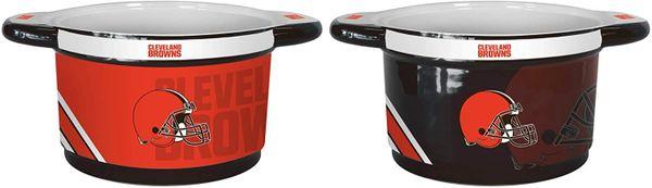 "Cleveland Browns 23oz Ceramic ""Twist"" Snack Bowl"