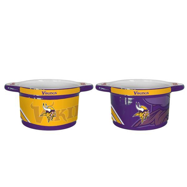 "Minnesota Vikings 23oz Ceramic ""Twist"" Snack Bowl"