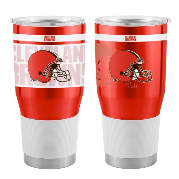 Cleveland Browns 30oz. Insulated Stainless Steel Twist Ultra Travel Tumbler