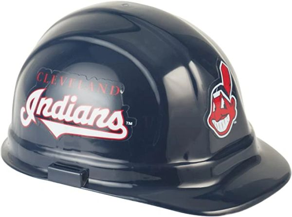 Cleveland Indians CHIEF WAHOO Hard Hat OSHA Approved