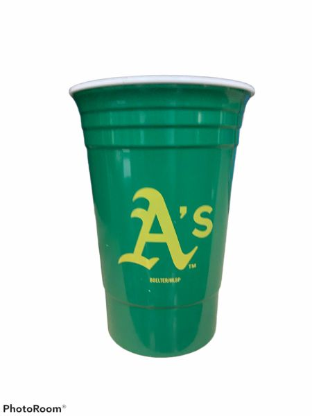 Oakland Athletics Heavy Duty Solo Cup Tailgater Tumbler, 15oz
