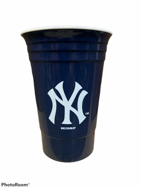 New York Yankees Heavy Duty Solo Cup Tailgater Tumbler, 15oz