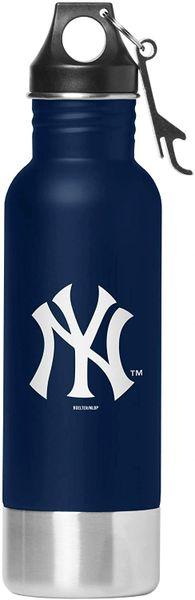 New York Yankees Team Logo Stainless Steel Bottle Chiller, 14oz