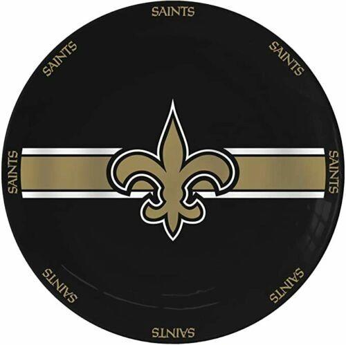 "New Orleans Saints Team Logo Ceramic Serving Plates 11"""