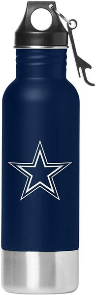 Dallas Cowboys Team Logo Stainless Steel Bottle Chiller, 14oz