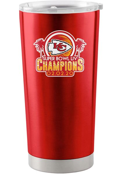 Kansas City Chiefs Super Bowl LIV Champions 20oz. Insulated Stainless Steel Ultra Travel Tumbler