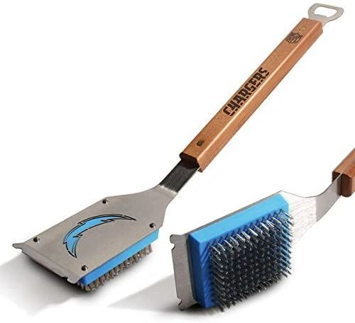 Los Angeles Chargers BBQ Grill Brush w/ Bottle Opener NFL