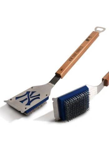New York Yankees BBQ Grill Brush w/ Bottle Opener MLB