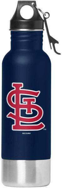 St. Louis Cardinals Team Logo Stainless Steel Bottle Chiller, 14oz