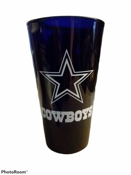 Dallas Cowboys Acrylic Tumbler Cups, 16oz 2 Pack