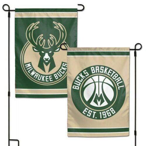 Milwaukee Bucks NHL 2 Sided Garden Flag
