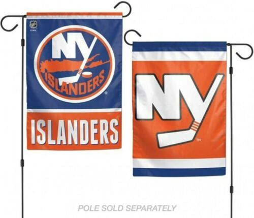 "New York Islanders 2 Sided Garden Flag 2 Sided 12"" x 18"""