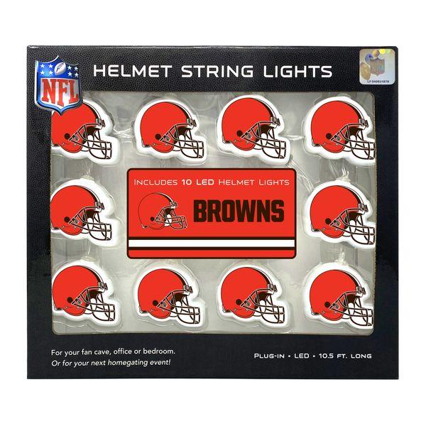 Cleveland Browns LED String Lights Helmet Design