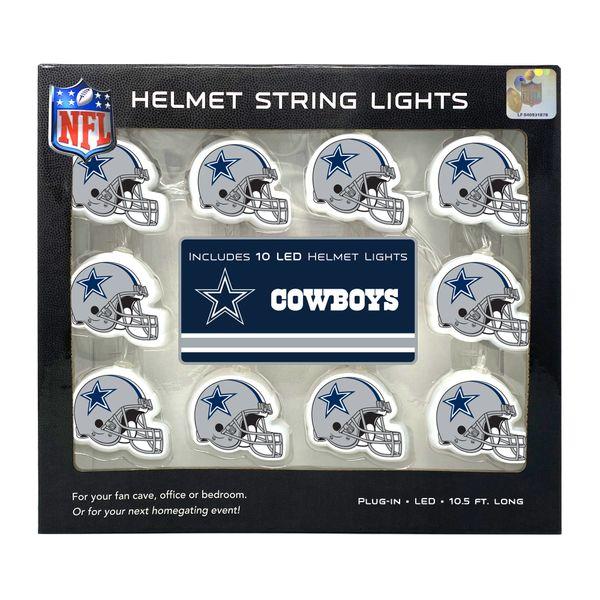 Dallas Cowboys LED String Lights Helmet Design