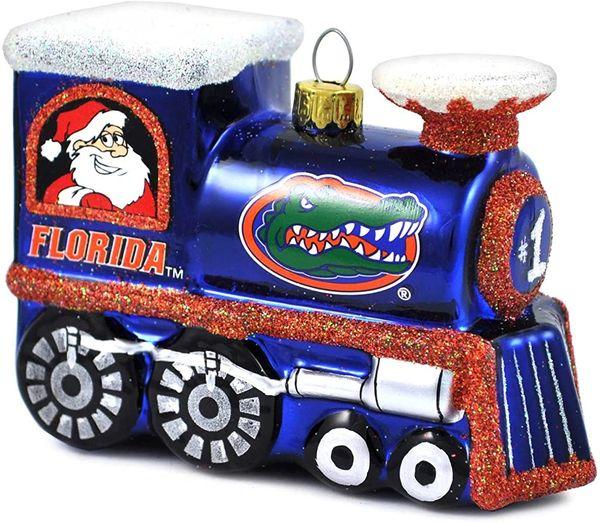 Florida Gators Christmas Tree Ornament - Train