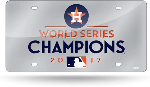 Houston Astros World Series Champions Front Tag - Acrylic