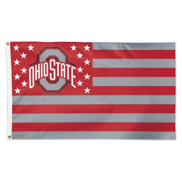 Ohio State Buckeyes Pole Banner Flag 3' x 5' NCAA Licensed