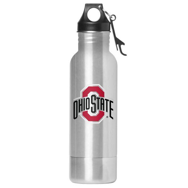 Ohio State Buckeyes Stainless Steel Bottle Chiller w/bottle opener, NCAA