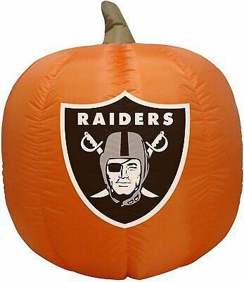 Las Vegas - Oakland Raiders 4' Inflatable Pumpkin