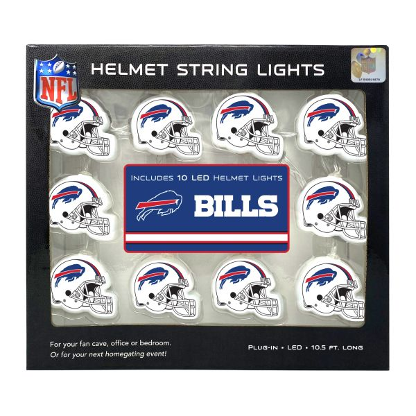 Buffalo Bills LED String Lights Helmet Design