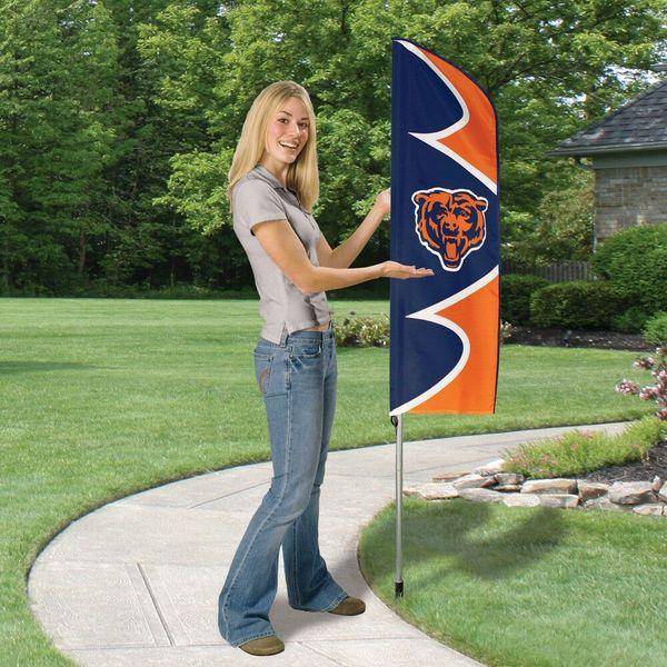 Chicago Bears 6' Tailgate - House Swooper Flag