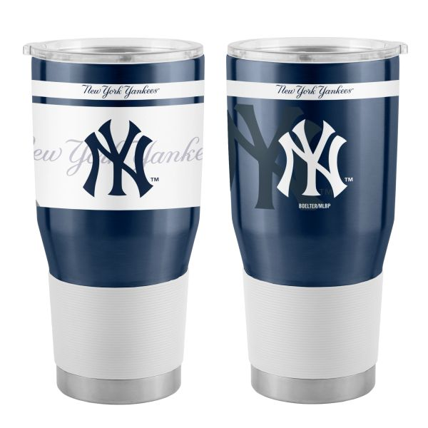 New York Yankees 30oz. Insulated Stainless Steel Twist Ultra Travel Tumbler
