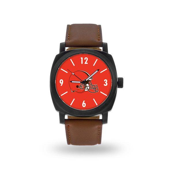 Mens Team Logo Watch w/ Leather Band