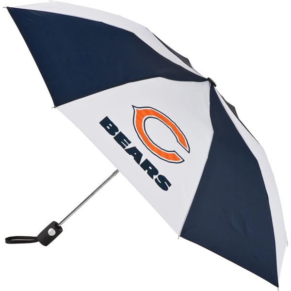 "Chicago Bears Automatic Push Button Umbrella 42"" NFL Licensed"