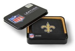 New Orleans Saints Embroidered Wallet NFL Licensed