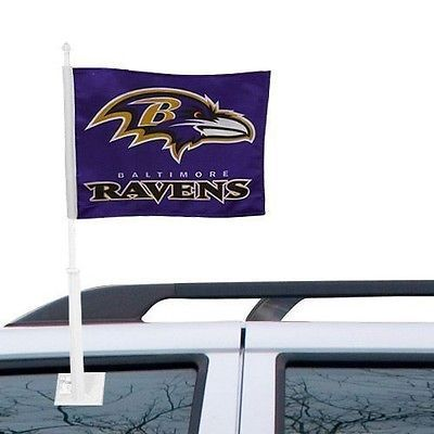 Baltimore Ravens Car Flag Truck - SUV Window Flag