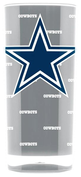 Dallas Cowboys Tumbler Cup 20oz. Square Insulated/Shatterproof NFL Licensed FREE SHIPPING